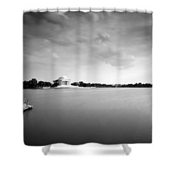 cloudscape and the Tidal Basin Shower Curtain