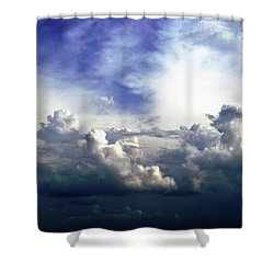 Cloudscape Fourteen Shower Curtain