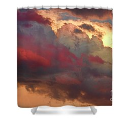 Cloudscape Sunset 46 Shower Curtain by James BO  Insogna