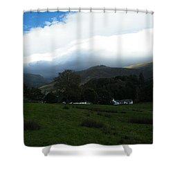 Cloudy Hills Shower Curtain