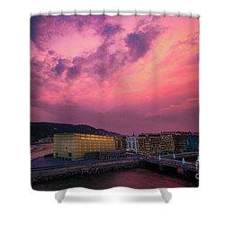 Cloudy  Shower Curtain by Mariusz Czajkowski