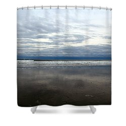 Cloudy Reflections Shower Curtain