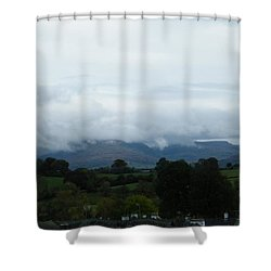 Cloudy View Shower Curtain