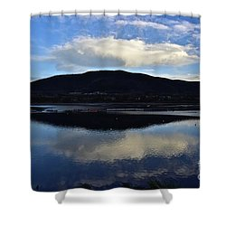 Cloudy Waters Of Colorado Shower Curtain