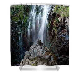 Clovelly Waterfall Shower Curtain