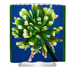 Clover Clarification Indoctrination Shower Curtain