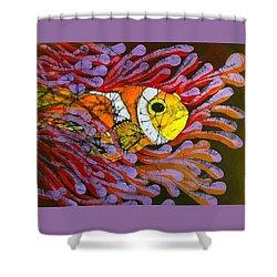 Clownfish I  Shower Curtain