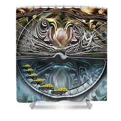 Clowns On Parade Shower Curtain