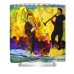 Club Cuba Shower Curtain