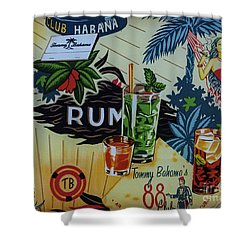 Club Habana Shower Curtain