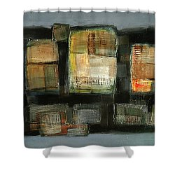 Club Shower Curtain by Behzad Sohrabi