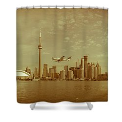 Cn Tower Drive-by Shower Curtain