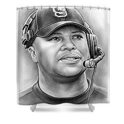 Coach David Shaw Shower Curtain