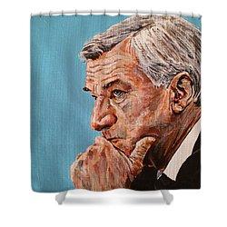 Coach Dean Smith Shower Curtain