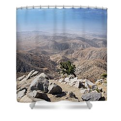 Coachella Valley Shower Curtain