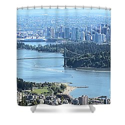 Coal Harbour Shower Curtain