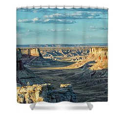 Coal Mine Canyon Shower Curtain