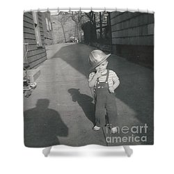 Shower Curtain featuring the photograph Coal Miner by Michael Krek