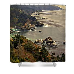 Coast Line Shower Curtain