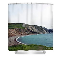 Shower Curtain featuring the photograph Coastal Arch by Sebastian Mathews Szewczyk