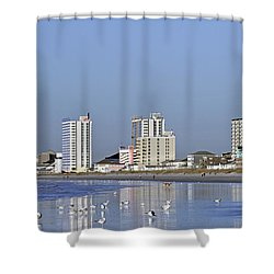 Coastal Architecture Shower Curtain