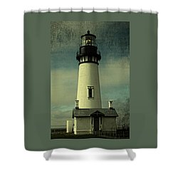 Coastal Breeze At Yaquina Head Shower Curtain