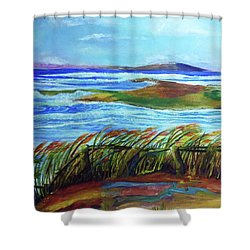 Coastal Winds Shower Curtain