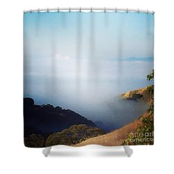 Coastal Fog Shower Curtain