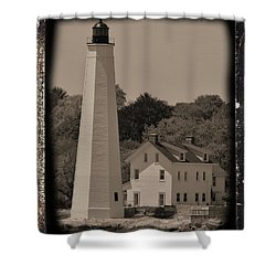 Coastal Lighthouse 2 Shower Curtain