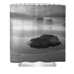 Coastal Mystics Shower Curtain