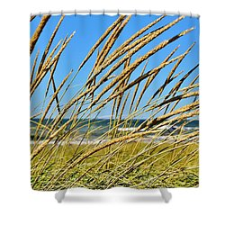 Coastal Relaxation Shower Curtain