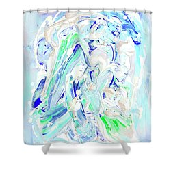 Coastal Splash Shower Curtain