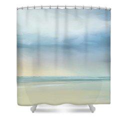 Coastal Vista Shower Curtain by Anthony Fishburne