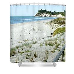 Coastline Nz Shower Curtain