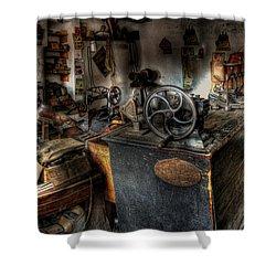 Cobbler's Shop Shower Curtain