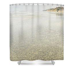 Cobblestones At Lowtide Shower Curtain