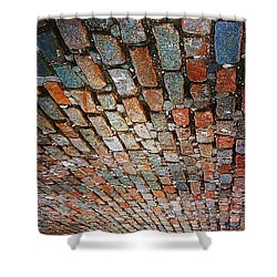 Cobblestones  Shower Curtain