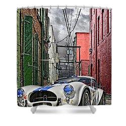 Cobra Alley Shower Curtain