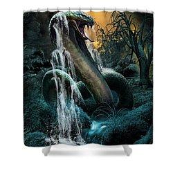 Cobra Falls Shower Curtain