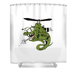 Cobra Shower Curtain