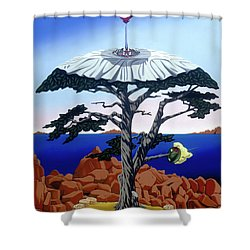 Cocktail Hour Shower Curtain
