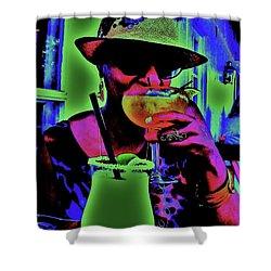 Cocktails Anyone Shower Curtain by Diana Dearen