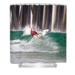 Coco Ho Surfer Girl Shower Curtain