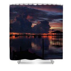 Cocoa Bay Shower Curtain