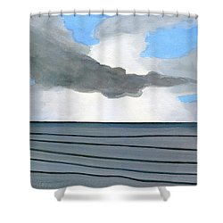 Cocoa Beach Sunrise 2016 Shower Curtain
