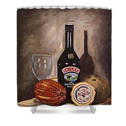 Cocoa Pods Coconut And Irish Cream Shower Curtain