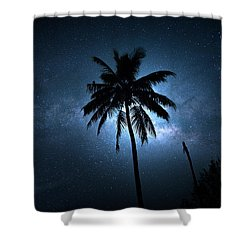 Coconut Milky Way  Shower Curtain