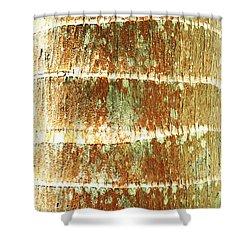 Coconut Palm Bark 2 Shower Curtain by Brandon Tabiolo - Printscapes