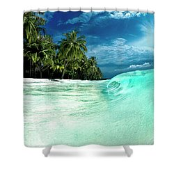 Coconut Water Shower Curtain