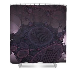 Cocoon Shower Curtain by Melissa Messick